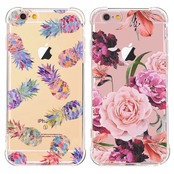 low priced f2fd3 95e74 iPhone 6/6S Phone Cases Pineapple/Floral Patterns